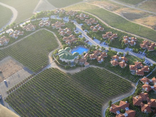 South Coast Winery Resort & Spa: View of South Coast Resort from the air.