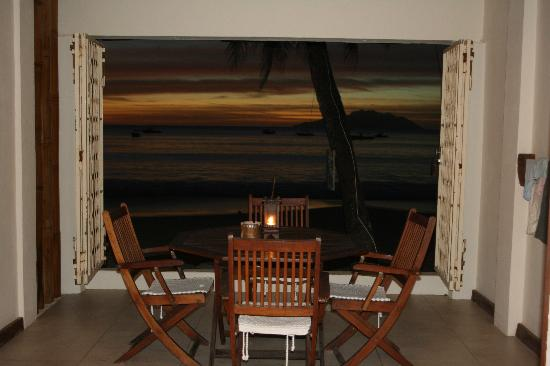 Clef des Iles : sunset