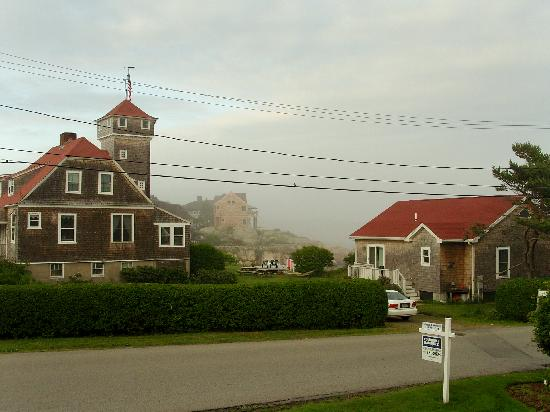The Seafarer Inn: From the Front of Seafarer on a Misty Morning in June