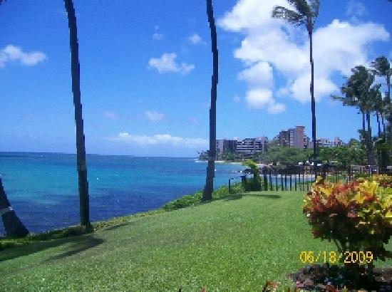 Noelani Condominium Resort: picture taken looking from the right of our condo