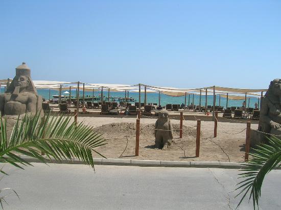 Rixos Premium Belek: vers la plage