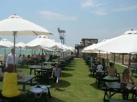 Rixos Premium Belek: Beach snack