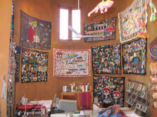 Kim Sacks Gallery: Tsonga embroidered and beaded cloths