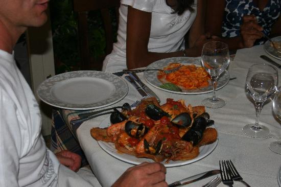Hotel Masseria Bandino: la zuppa di pesce