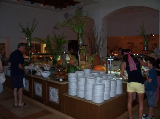 Grecotel Olympia Oasis & Aqua Park: Part of buffet
