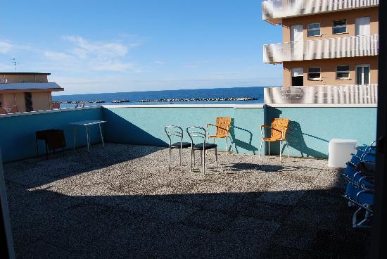 Residence Beach Paradise: Terasse