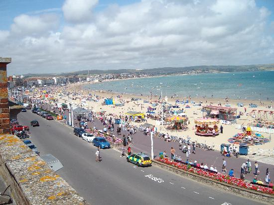 Bay View Hotel Weymouth: view from balcony