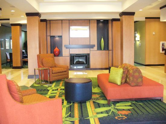 Fairfield Inn & Suites Chattanooga I-24/Lookout Mountain: main lobby