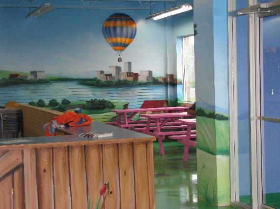Musee Pour Enfants: picnic area