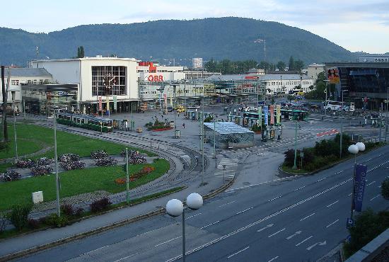 Austria Trend Hotel Europa Graz: vue depuis la chambre