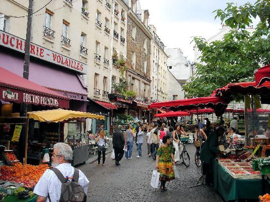 Latin Quarter: Quartier Latin market, Paris