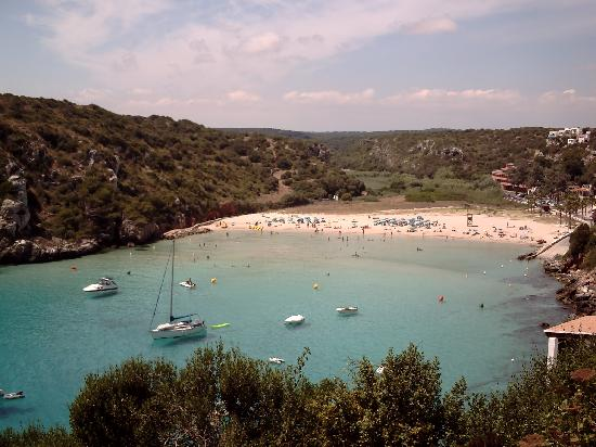 Cala'n Porter, Spain: The Beach