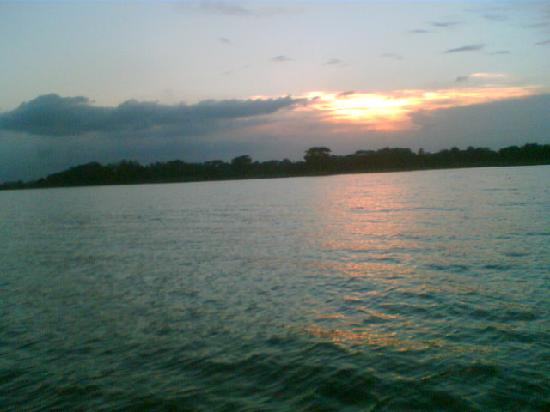 "Comilla, Bangladesh: Sun set in Muradnagar ""KOTI BILL"""