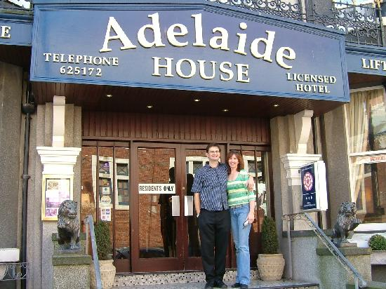 Adelaide House Hotel: Proprietors of Adelaide House-Caryn and Derek Dickson