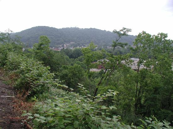 SpringHill Suites Wheeling: Lovely view from the back terrace