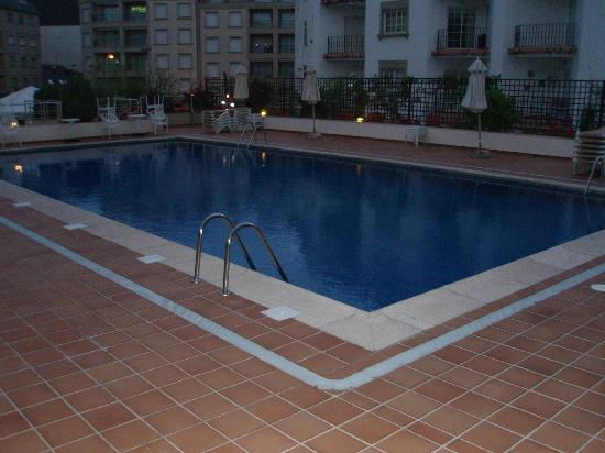 Hotel Carlos I Silgar: Piscina exterior