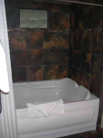 double wide jet tub/shower - picture of villas at poco diablo