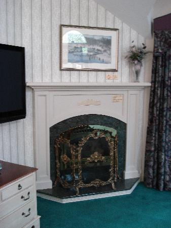 Nestlenook Estate & Resort: Fireplace