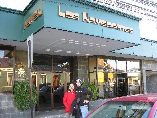 Hotel Los Navegantes: Entrada al hotel