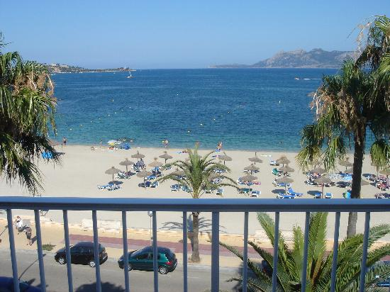 Hoposa Pollentia Hotel: View from our room