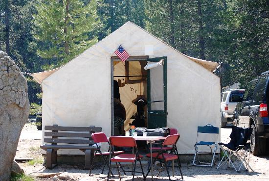 White Wolf Lodge: Tent Cabin #18