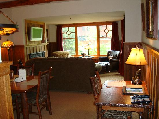 Living Room With Desk Picture Of The Whiteface Lodge Lake Placid TripAdv