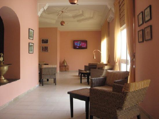 Hotel Sahara Douz: Le bar de l'hôtel