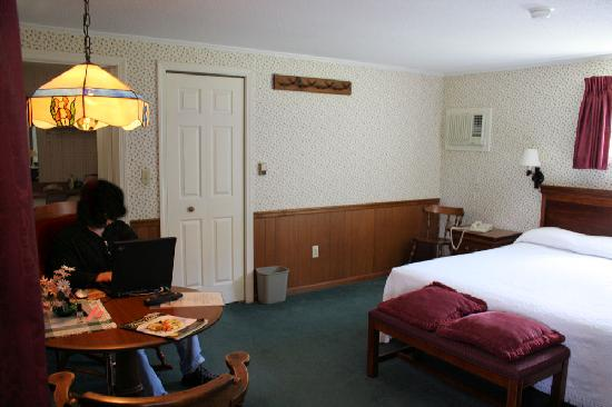 The Aspen at Manchester: A partial view of room #15