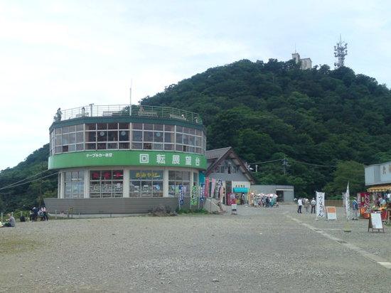 สึกุบะ, ญี่ปุ่น: 御幸ヶ原の回転展望台