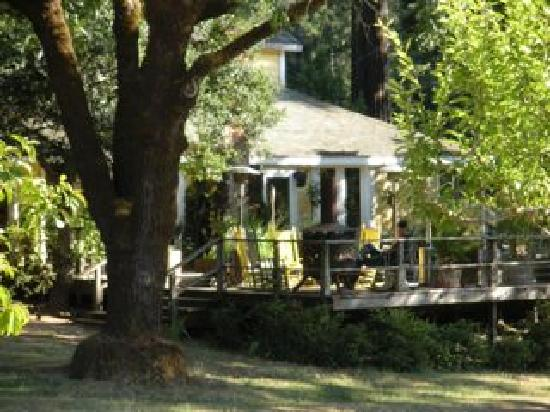 Blackbird Farm: main house