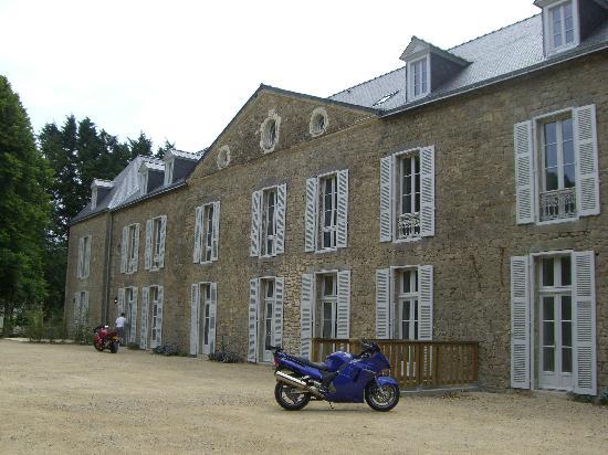 Résidence Odalys Le Château de Kéravéon: Vue de la facade du château
