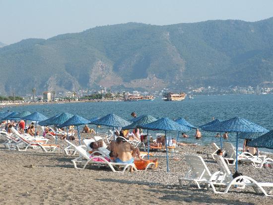Plage de Calis : The beach at Callis