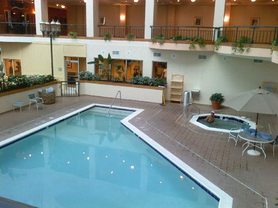 Savannah Marriott Riverfront Indoor Pool