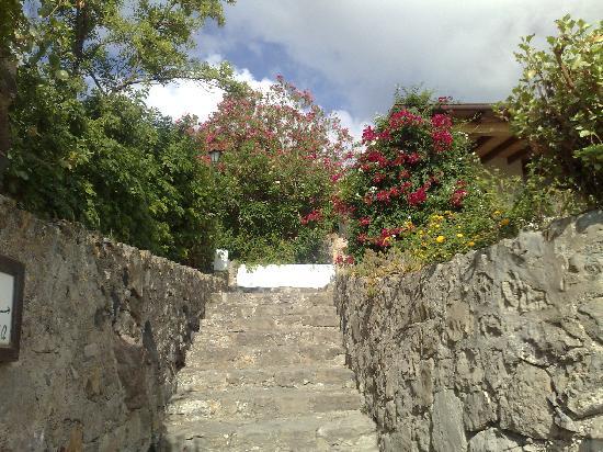 Villa Diana: l'ingresso