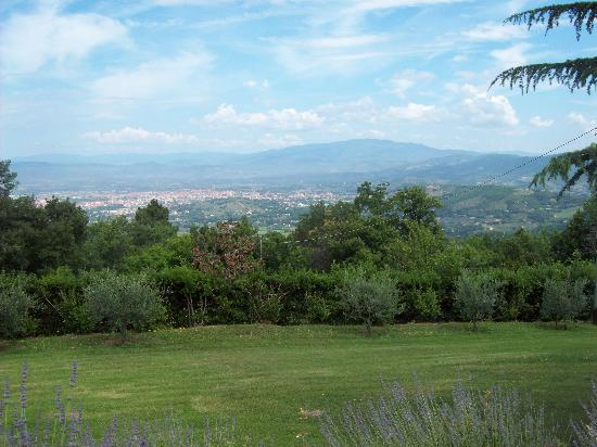 View from Casa Pippo of Arezzo