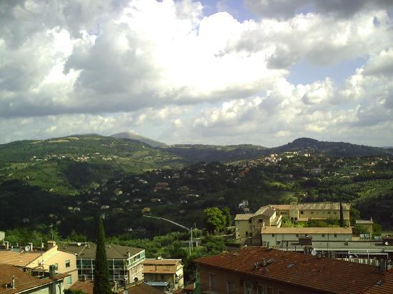 Hotel Perusia: uitzicht vanaf het dakterras