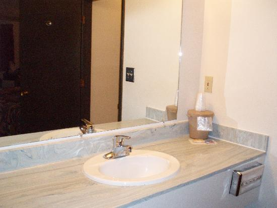 Branding Iron Motel: Bath area