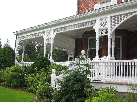 Marsh - Billings - Rockefeller National Historical Park: Porch