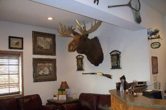 Bullwinkles Rustic Lodge: great, friendly place!!!