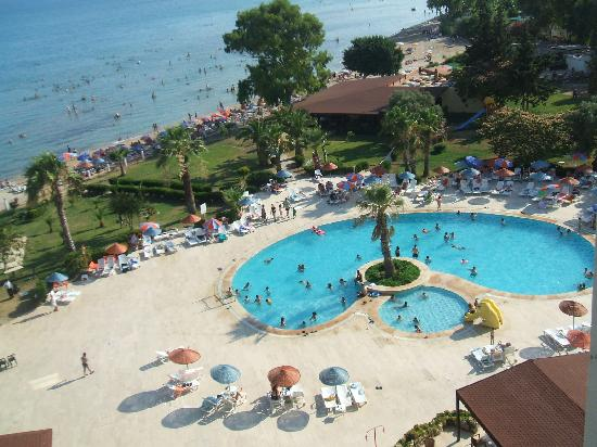 Holiday Resort Hotel: The Pool & View
