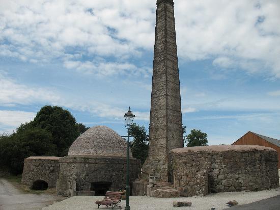 Carbis Wharf - renovated kiln & chimney etc