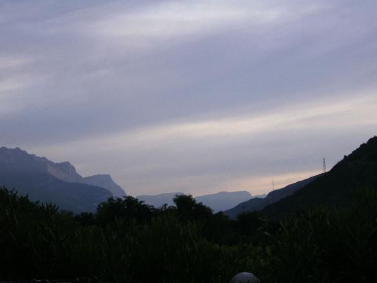 Albergo Garni Eden: View from balcony