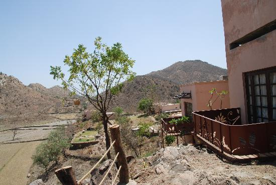 Aravali Silence Lakend Resorts & Adventures Pvt. Ltd.: Views from the Balcony