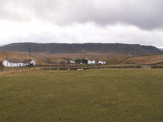 Langdon Beck Hotel: view from lounge in feb 09