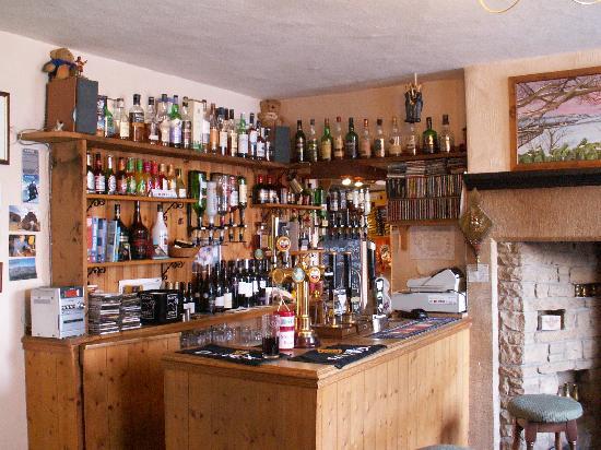 Langdon Beck Hotel: well stocked bar