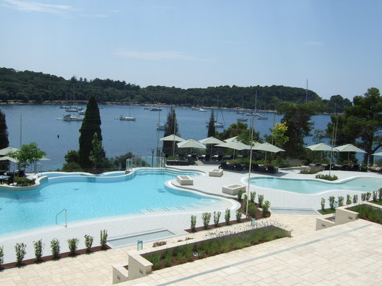 Hotel Monte Mulini: Pool area