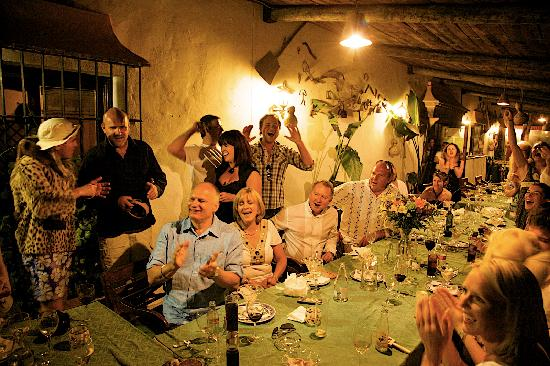Los Jarales Rural Hotel Istan: good frends jn very romantic setting