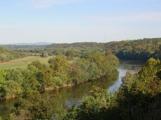 James River Inn: View of the River