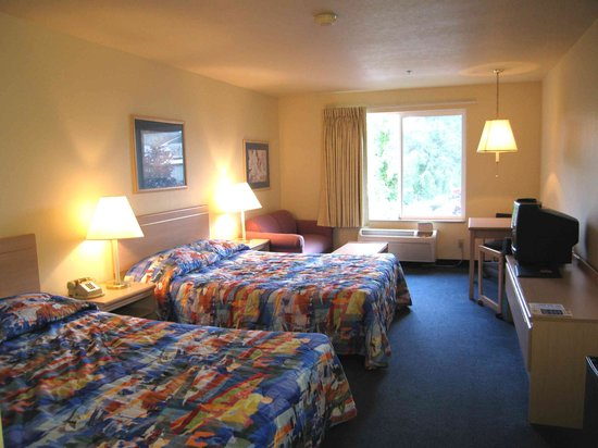 Motel 6 Seaside Oregon: Room 230