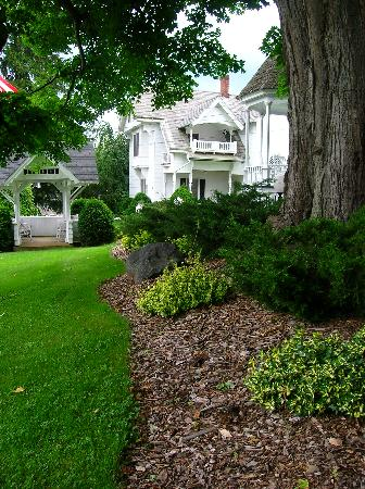 Grounds at the Thompson house